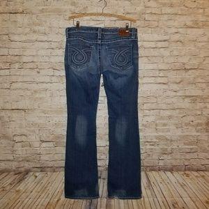BIG STAR LIV Bootcut Denim Jeans size 31 Long